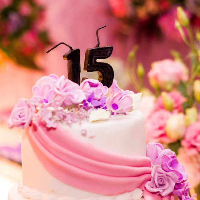 Tips para tu fiesta de quince años