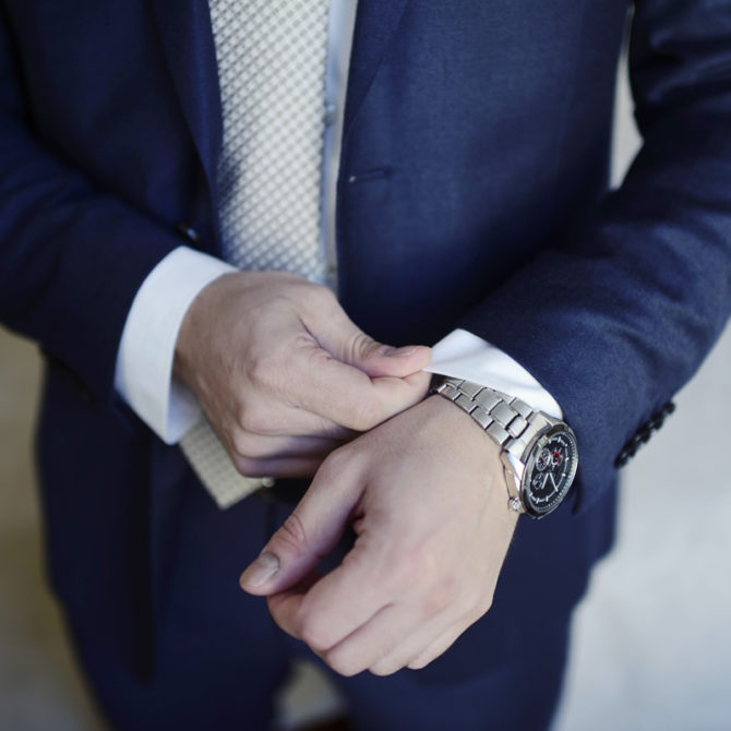 Si el color de tu traje hablara, ¿qué diría?