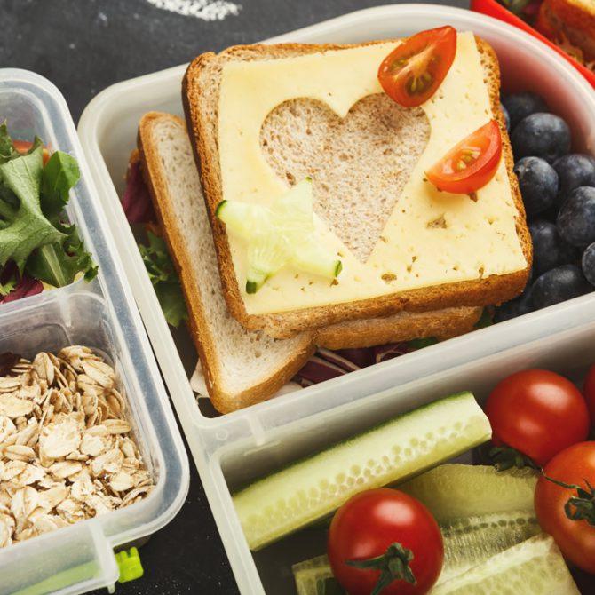 Snacks para el regreso a clases