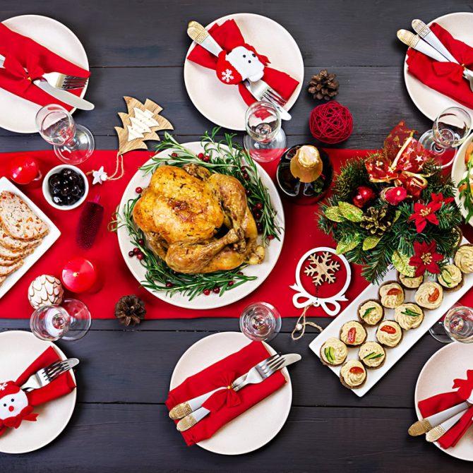 Prueba nuestras comidas y cenas navideñas para llevar