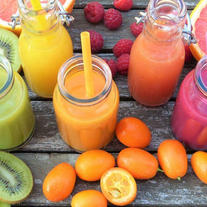 Frutas y verduras con alto contenido de vitamina C